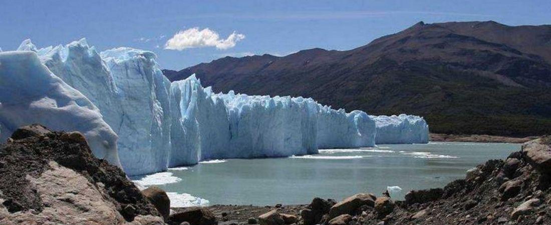 glaciar moreno vista